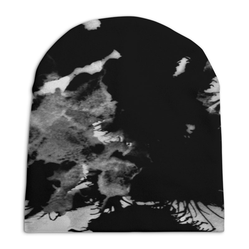 Шапка унисекс с полной запечаткой Printio Пятна шапка унисекс с полной запечаткой printio травка