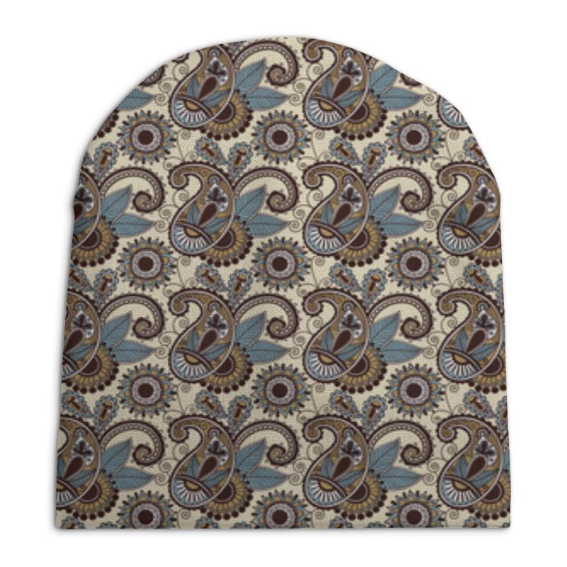 Шапка унисекс с полной запечаткой Printio Пейсли (авангард) шапка унисекс с полной запечаткой printio spb python more than python hat