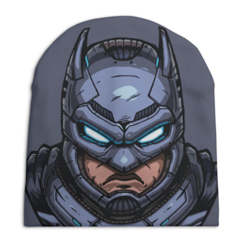 Шапка унисекс с полной запечаткой Printio Armored batman / бронированный бэтмен
