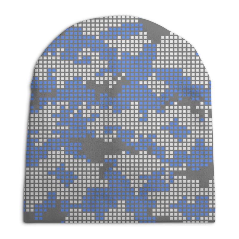 Шапка унисекс с полной запечаткой Printio Комуфляж шапка унисекс с полной запечаткой printio чайка