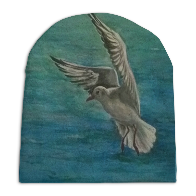 Шапка унисекс с полной запечаткой Printio Чайка шапка унисекс с полной запечаткой printio чайка