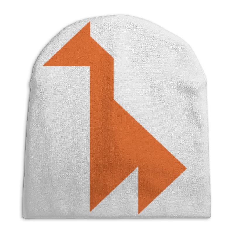 Шапка унисекс с полной запечаткой Printio Оранжевый жираф танграм chaos шапка hula оранжевый