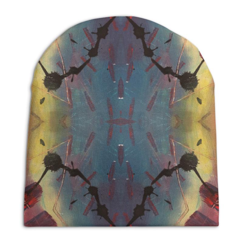 Шапка унисекс с полной запечаткой Printio Galactic stylish trees landscape oil painting pattern square shape flax pillowcase without pillow inner