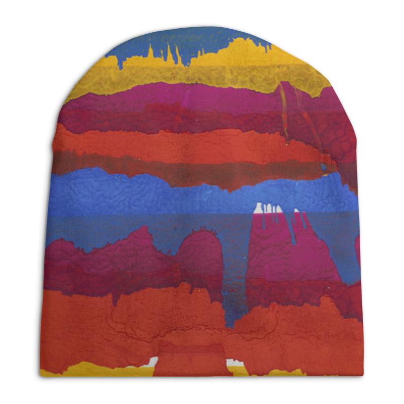 Шапка унисекс с полной запечаткой Printio Красочный