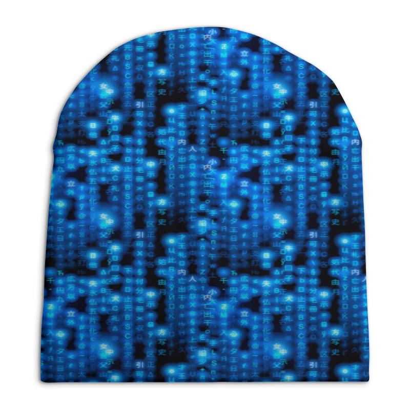 Фото - Шапка унисекс с полной запечаткой Printio Символы шапка унисекс с полной запечаткой printio денис