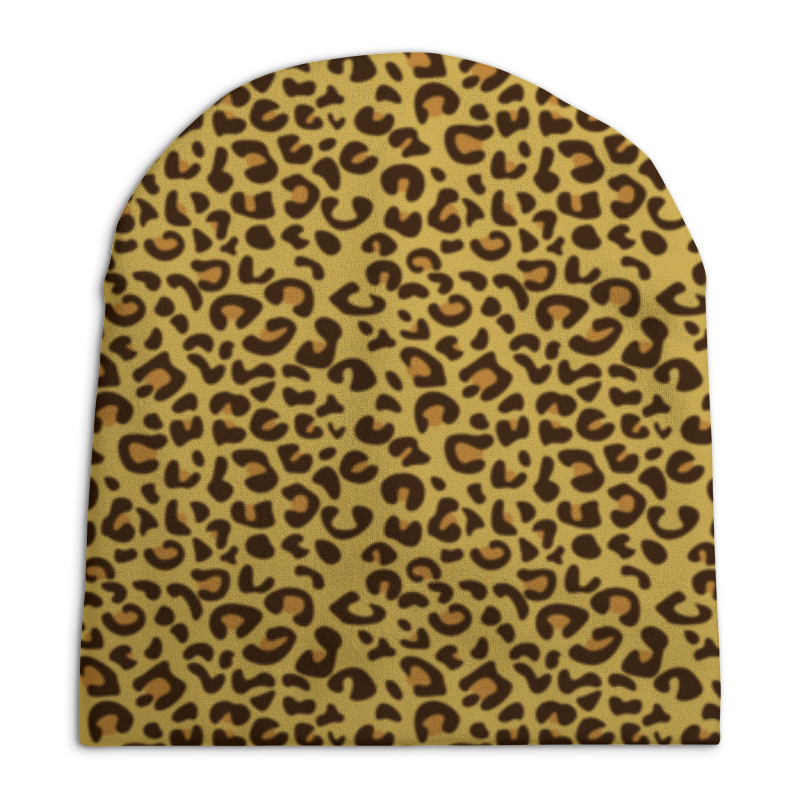Шапка унисекс с полной запечаткой Printio Леопардовый printio шапка унисекс с полной запечаткой