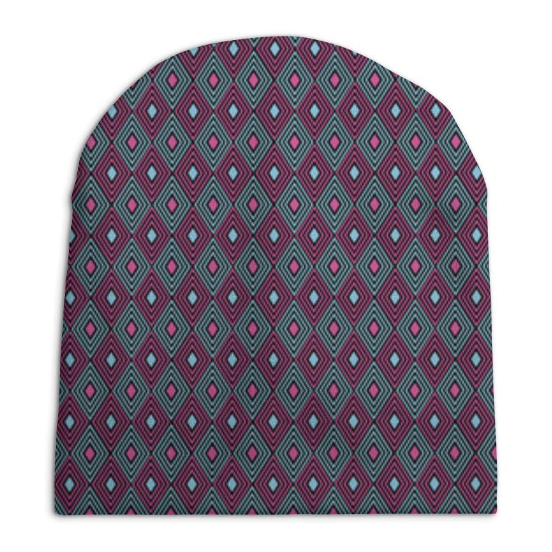 Шапка унисекс с полной запечаткой Printio Геометрический узор шапка унисекс с полной запечаткой printio геометрический узор