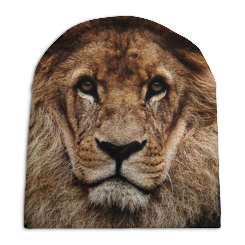Шапка унисекс с полной запечаткой Printio Лев - царь зверей свитшот унисекс с полной запечаткой printio просто царь
