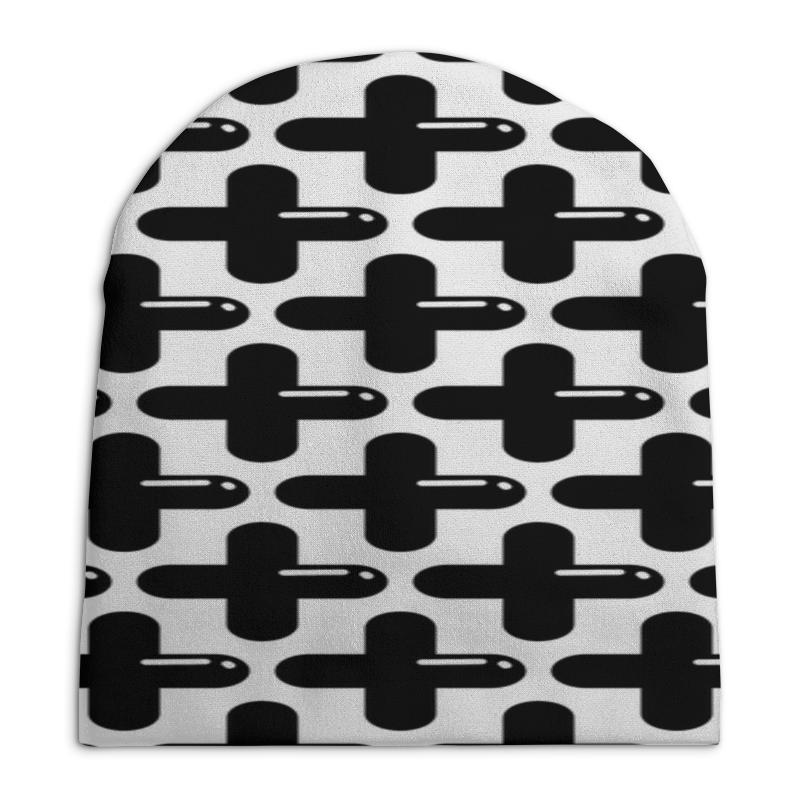 Шапка унисекс с полной запечаткой Printio Крестики рюкзак с полной запечаткой printio крестики