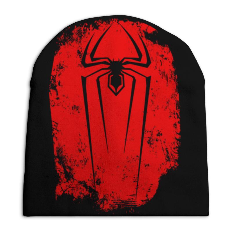 Шапка унисекс с полной запечаткой Printio Человек паук академия групп пенал человек паук