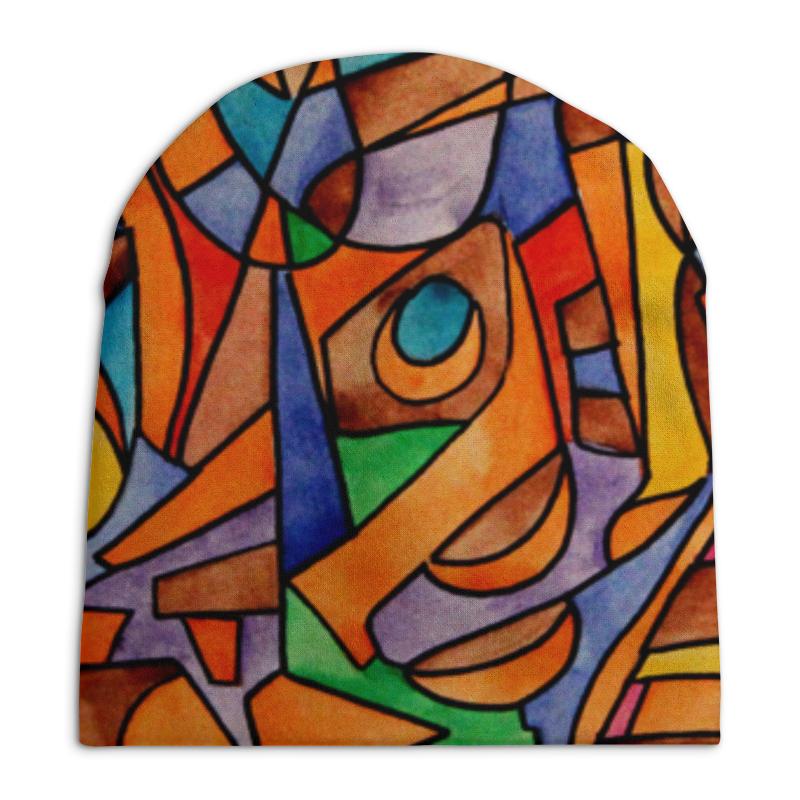 Шапка унисекс с полной запечаткой Printio W2w2`v61 шапка canada goose 6194l 61