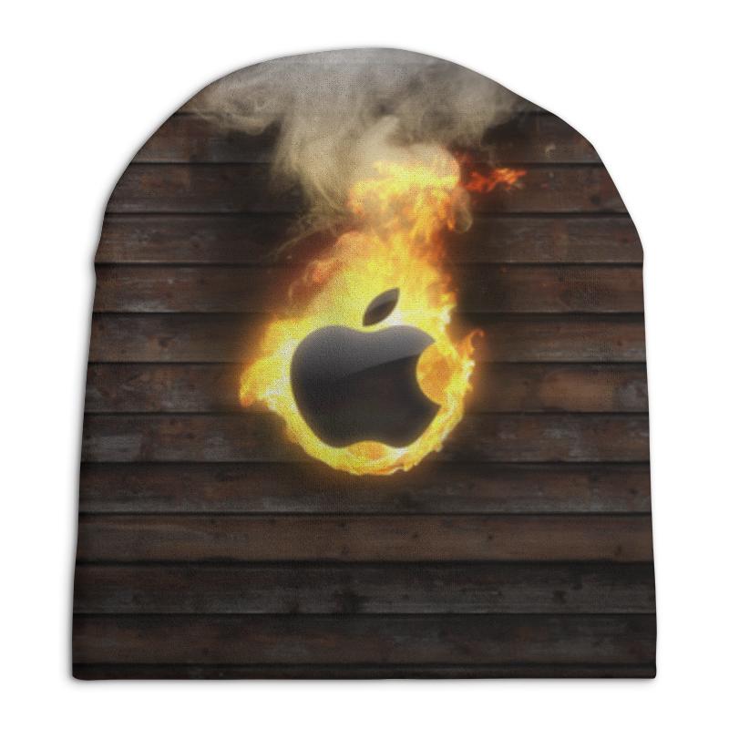 Фото - Шапка унисекс с полной запечаткой Printio Apple свитшот унисекс с полной запечаткой printio алфавит