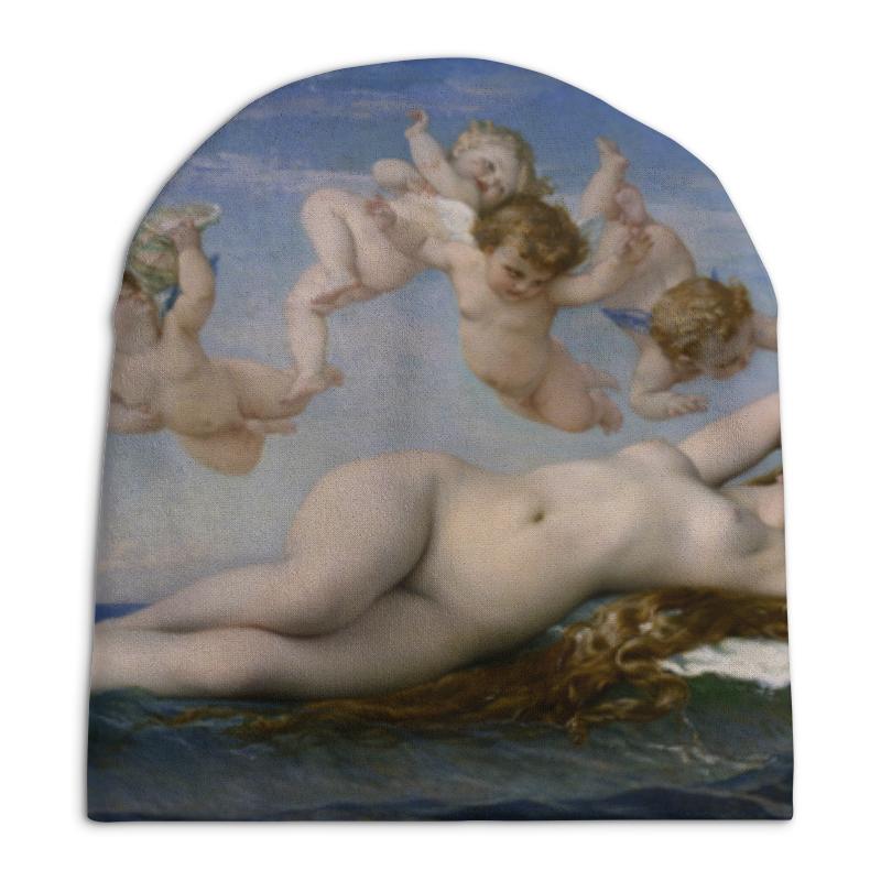 Шапка унисекс с полной запечаткой Printio Рождение венеры (картина кабанеля) футболка с полной запечаткой для девочек printio рождение венеры