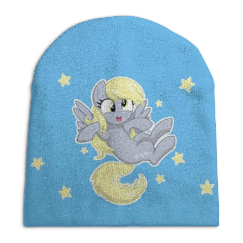 Шапка унисекс с полной запечаткой Printio My little pony (derpy) футболка с полной запечаткой женская printio my little pony derpy