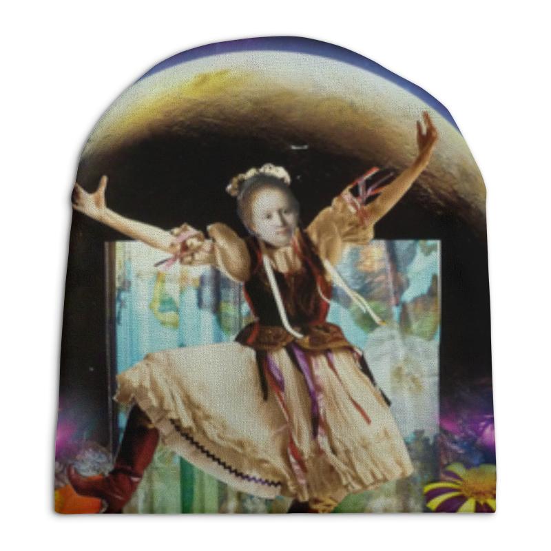 Фото - Шапка унисекс с полной запечаткой Printio Коллаж space dance! свитшот унисекс с полной запечаткой printio любите mix dance мы тоже