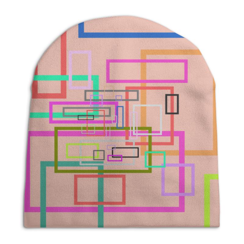 Шапка унисекс с полной запечаткой Printio Абстракция шапка унисекс с полной запечаткой printio синяя абстракция