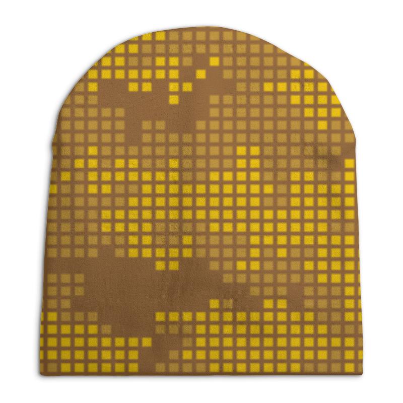 Шапка унисекс с полной запечаткой Printio Камуфляж шапка унисекс с полной запечаткой printio боярыня морозова василий суриков
