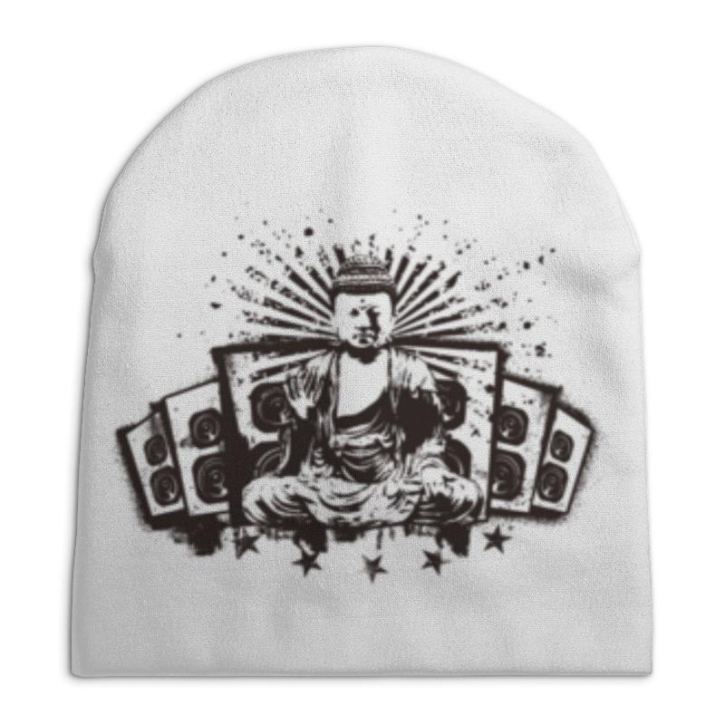 Шапка унисекс с полной запечаткой Printio Будда (акустика) борцовка с полной запечаткой printio будда акустика