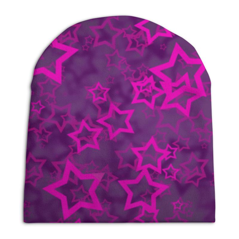 Шапка унисекс с полной запечаткой Printio Stars цена
