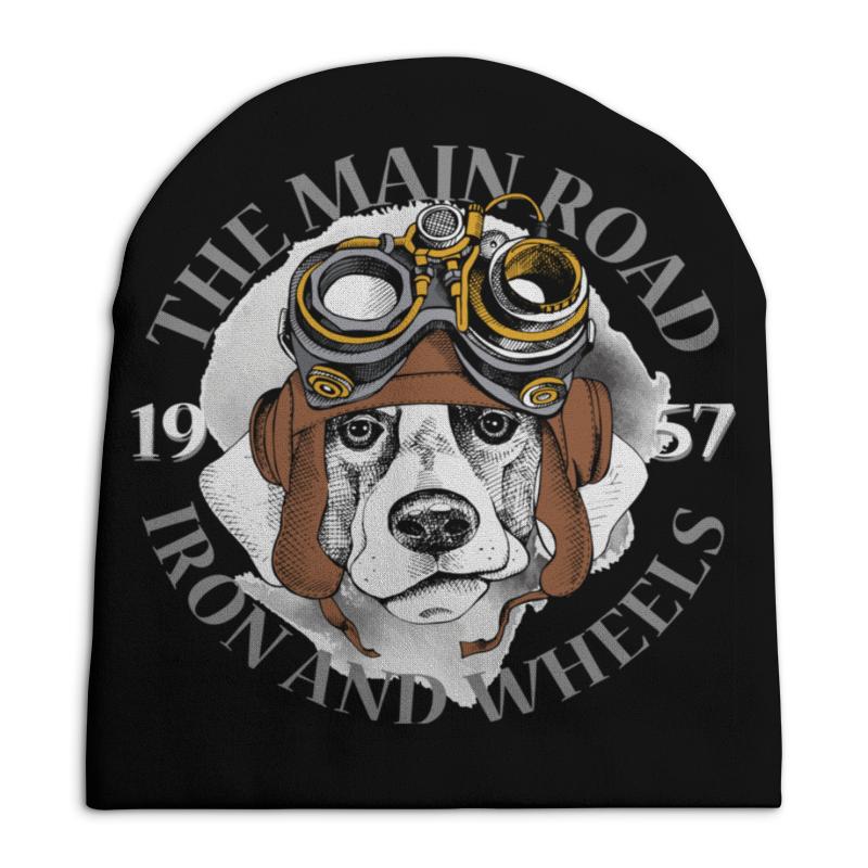 Шапка унисекс с полной запечаткой Printio Собака шапка унисекс с полной запечаткой printio собака из дудл монстров