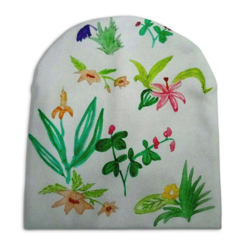 Шапка унисекс с полной запечаткой Printio Ботаника иван иванович лажечников ледяной дом