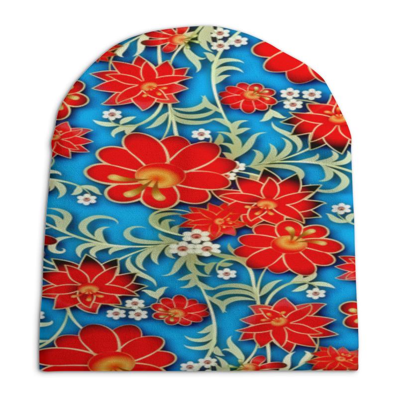 Шапка унисекс с полной запечаткой Printio Весна шапка унисекс с полной запечаткой printio чайка