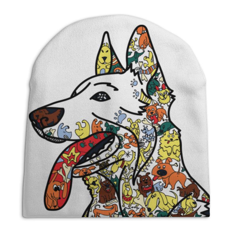 Шапка унисекс с полной запечаткой Printio Забавные собаки шапка унисекс с полной запечаткой printio собака из дудл монстров