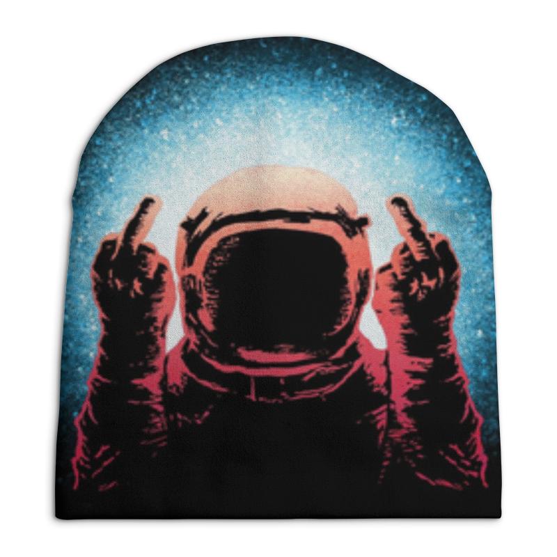 Фото - Шапка унисекс с полной запечаткой Printio Космонавт свитшот унисекс с полной запечаткой printio алфавит