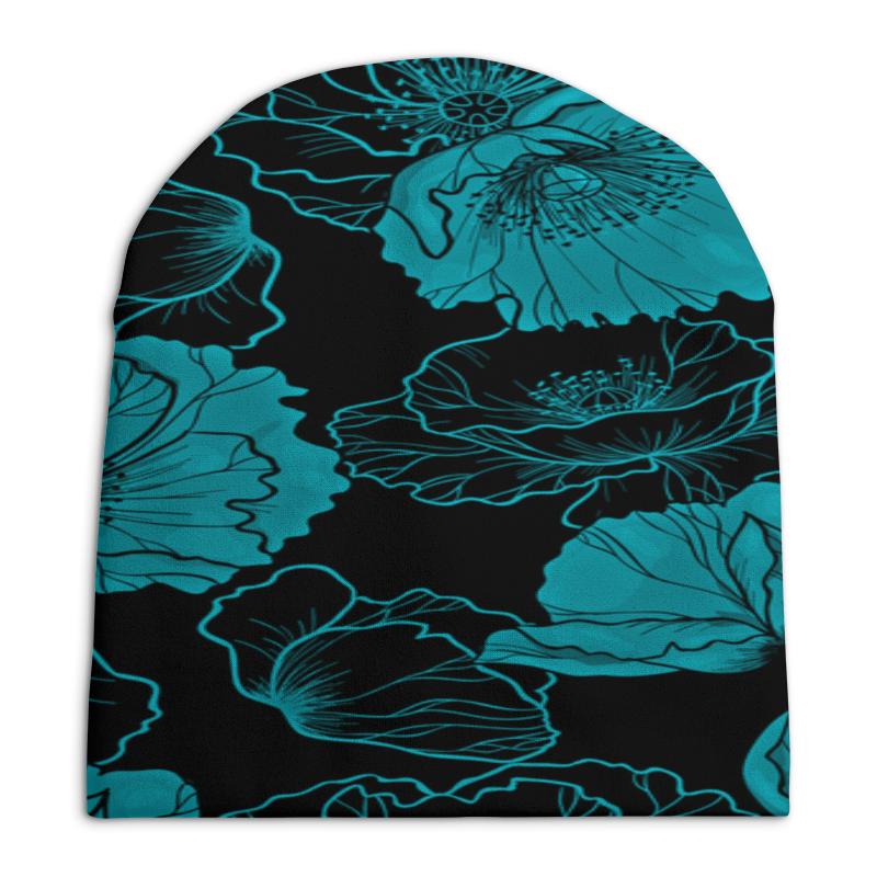 Шапка унисекс с полной запечаткой Printio Цветочный шапка унисекс с полной запечаткой printio цветочный рай