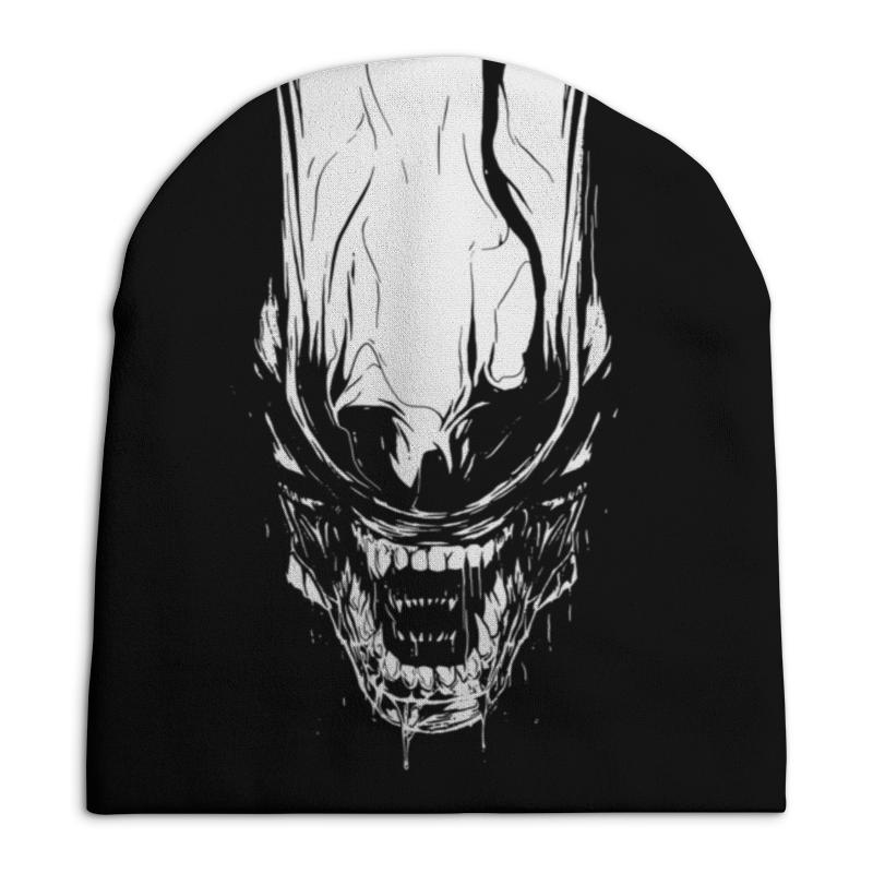 Фото - Шапка унисекс с полной запечаткой Printio Xenoblack рубашка поло с полной запечаткой printio xenoblack