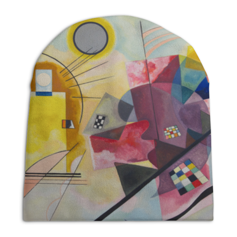 Фото - Printio Желтый, красный, синий (василий кандинский) шапка унисекс с полной запечаткой printio боярыня морозова василий суриков