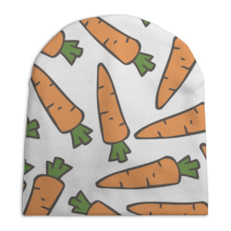 Шапка унисекс с полной запечаткой Printio Морковки шапка унисекс с полной запечаткой printio digital playground