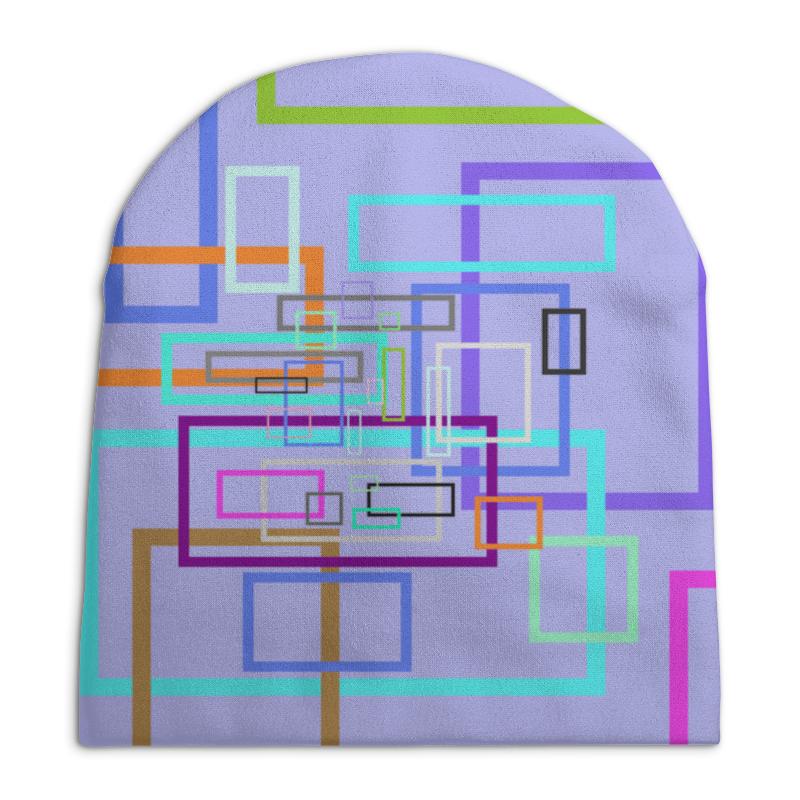 Шапка унисекс с полной запечаткой Printio Абстракция шапка унисекс с полной запечаткой printio фруктовый микс