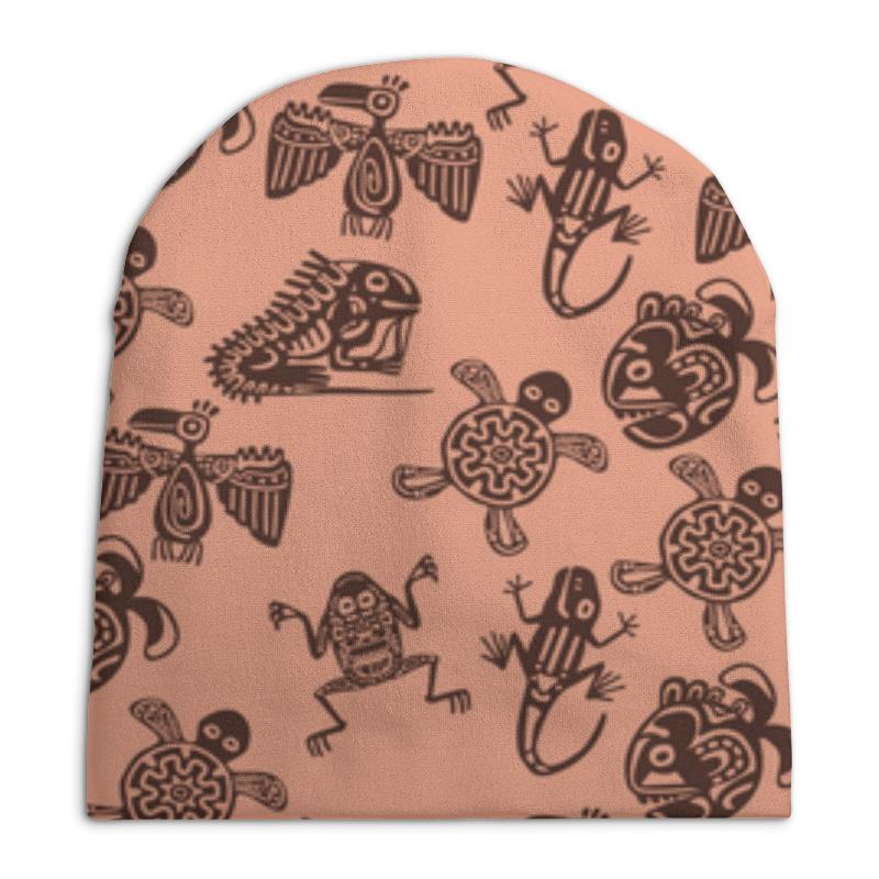 Шапка унисекс с полной запечаткой Printio В стиле майя сумка с полной запечаткой printio в стиле майя