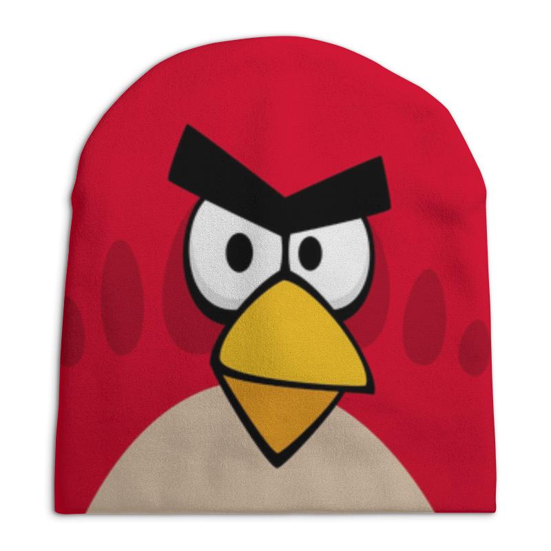 Шапка унисекс с полной запечаткой Printio Angry birds (terence) футболка с полной запечаткой женская printio angry birds terence