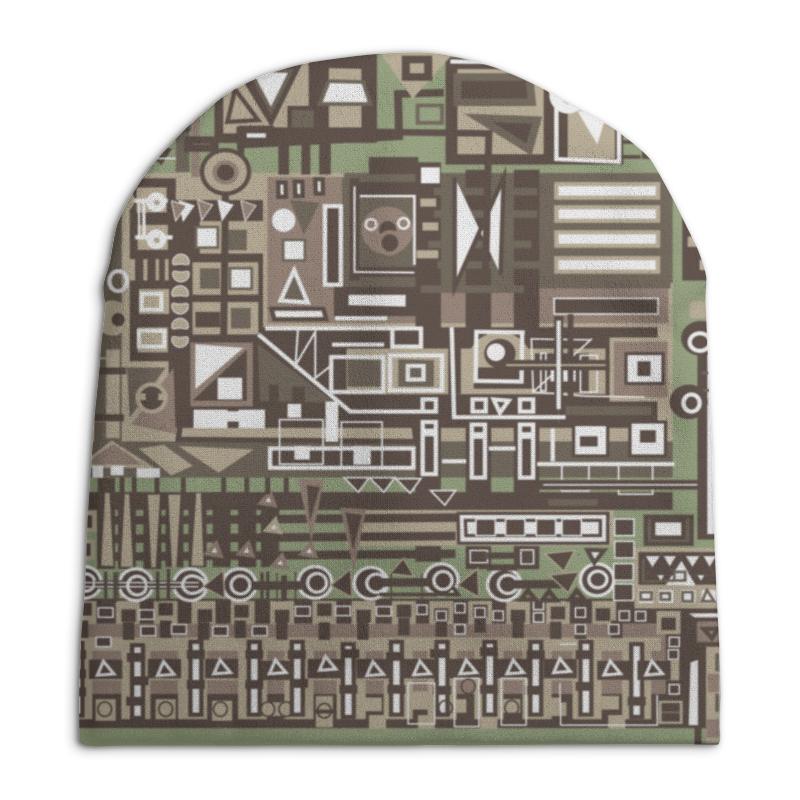 Шапка унисекс с полной запечаткой Printio Fg345gh шапка унисекс с полной запечаткой printio чайка