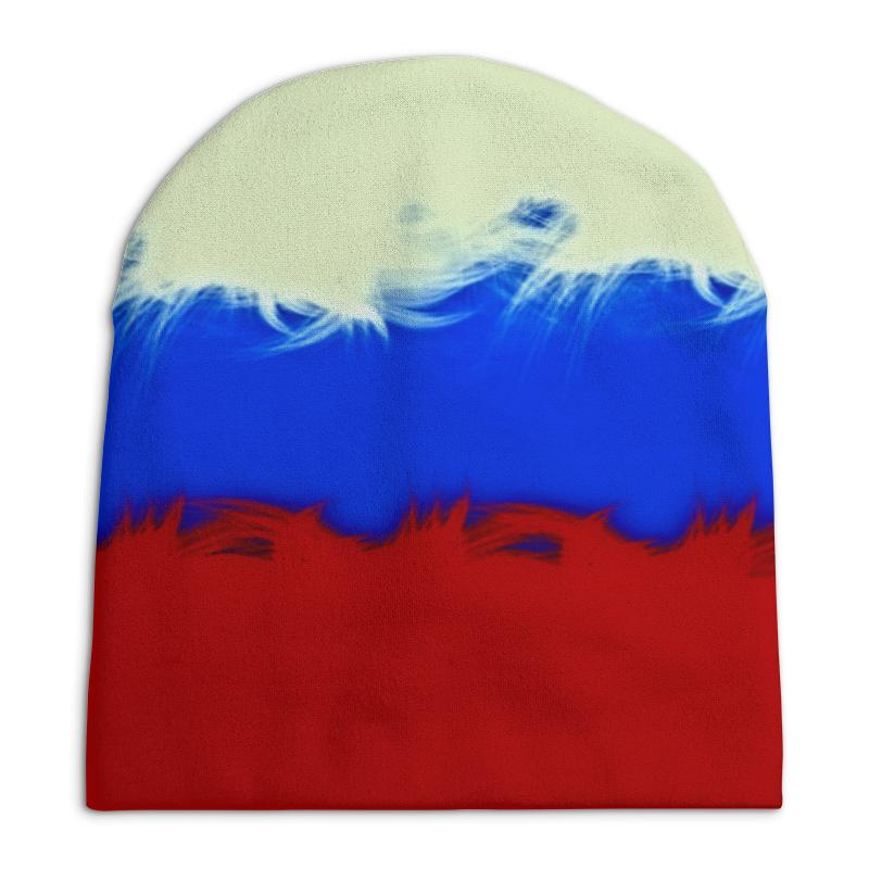 Шапка унисекс с полной запечаткой Printio Россия цена