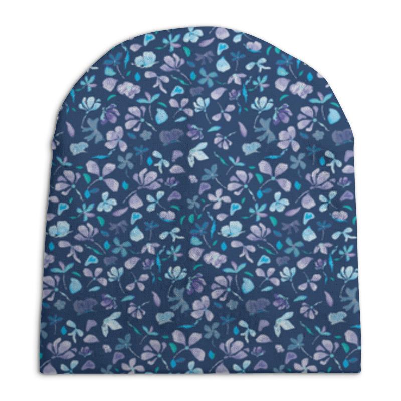 Шапка унисекс с полной запечаткой Printio Зимние цветы шапка унисекс с полной запечаткой printio зимние забавы