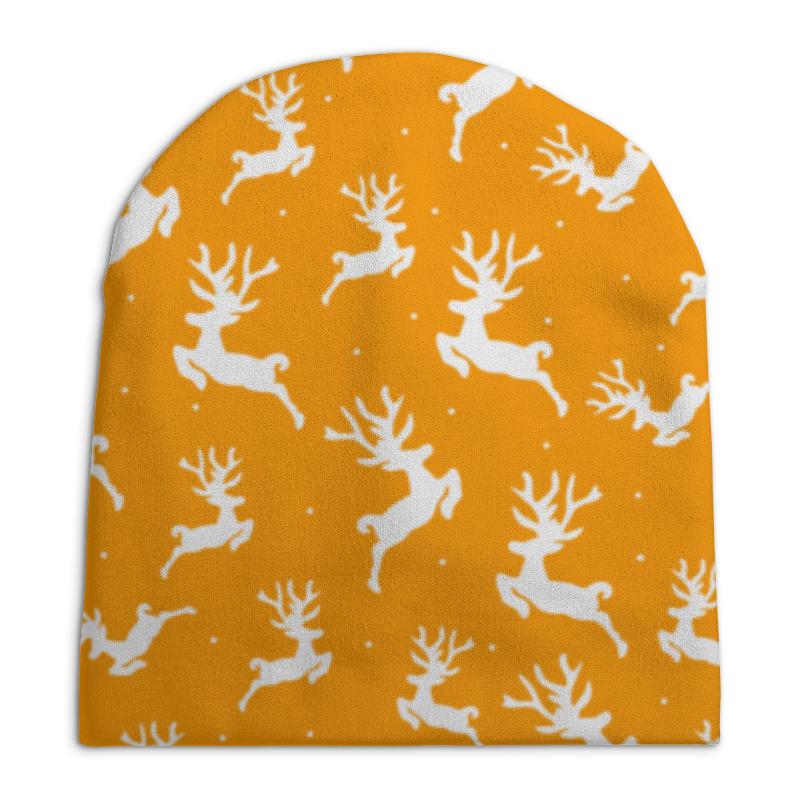 Шапка унисекс с полной запечаткой Printio Олени шапка унисекс с полной запечаткой printio боярыня морозова василий суриков