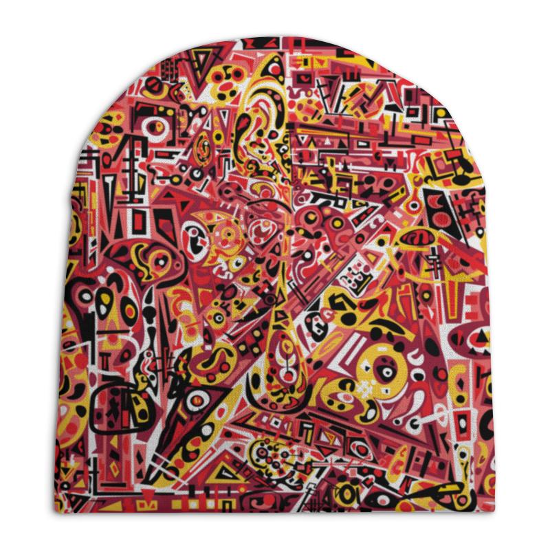 Шапка унисекс с полной запечаткой Printio Zdermm431 шапка унисекс с полной запечаткой printio павел