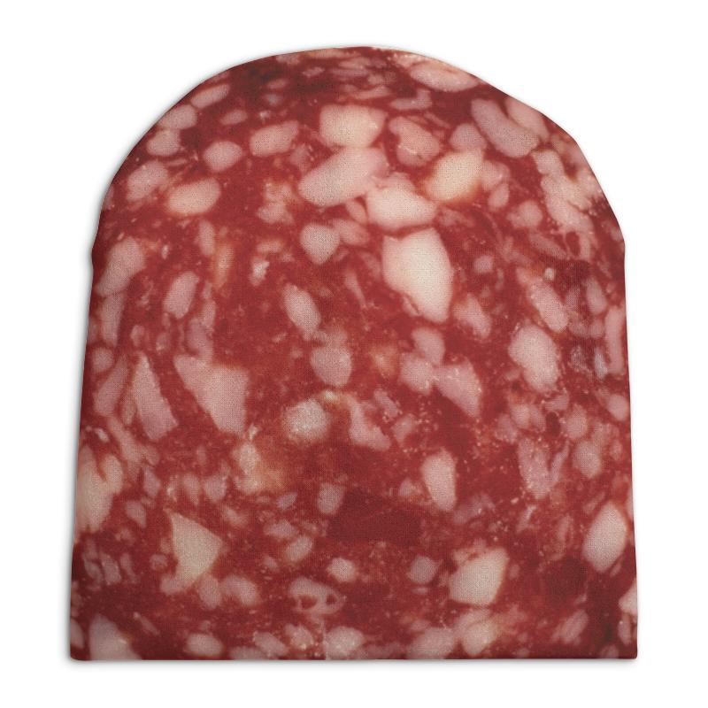 Шапка унисекс с полной запечаткой Printio Колбаса фартук с полной запечаткой printio колбаса