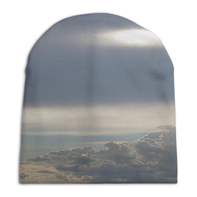 Фото - Шапка унисекс с полной запечаткой Printio Выше облаков! свитшот унисекс с полной запечаткой printio алфавит