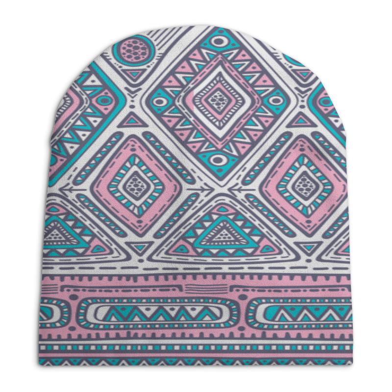 Шапка унисекс с полной запечаткой Printio Расписные узоры шапка унисекс с полной запечаткой printio спиннер