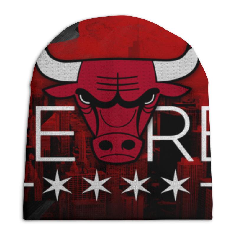 Шапка унисекс с полной запечаткой Printio Chicago bulls шапка классическая унисекс printio chicago bulls