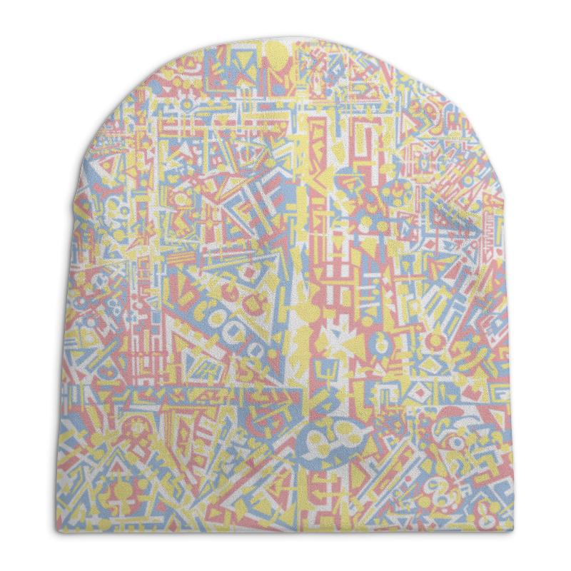Шапка унисекс с полной запечаткой Printio Plppgtysxxx132 шапка унисекс с полной запечаткой printio сад земных наслаждений