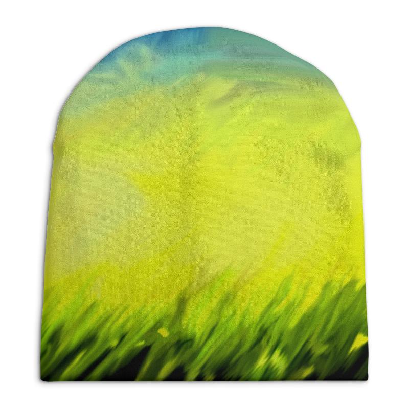 Шапка унисекс с полной запечаткой Printio Краски лета ольга заровнятных рецепт идеального лета