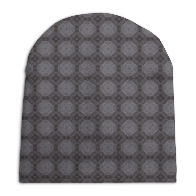 Шапка унисекс с полной запечаткой Printio Static свитшот унисекс с полной запечаткой printio static