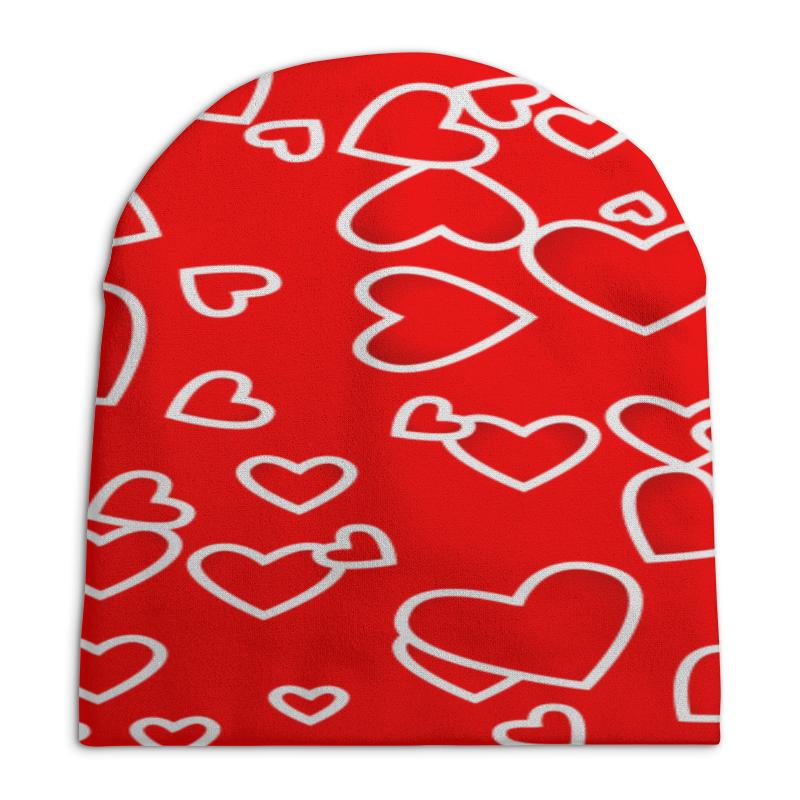 Printio Сердце шапка классическая унисекс printio сердце
