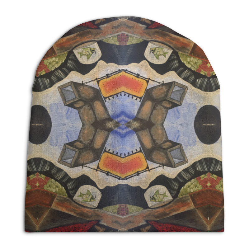 Фото - Printio Fish and pipes fragment pattern table cloth