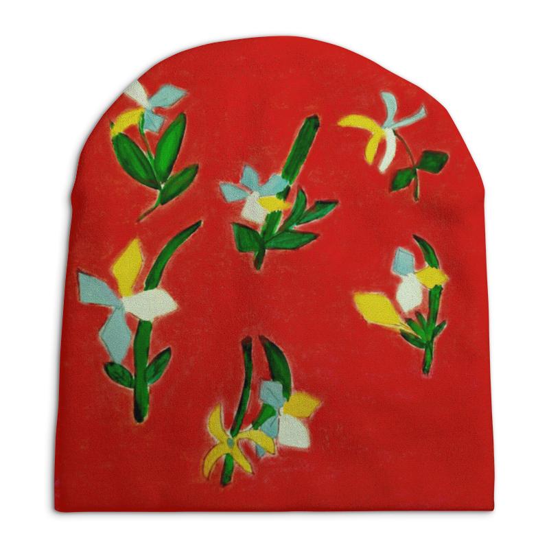 Шапка унисекс с полной запечаткой Printio Весна, весна весна